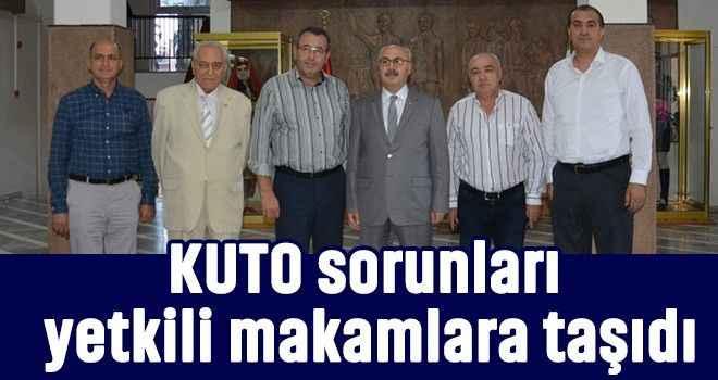 KUTO sorunları yetkili makamlara taşıdı