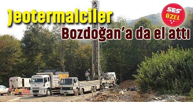 Jeotermalciler Bozdoğan'a da el attı