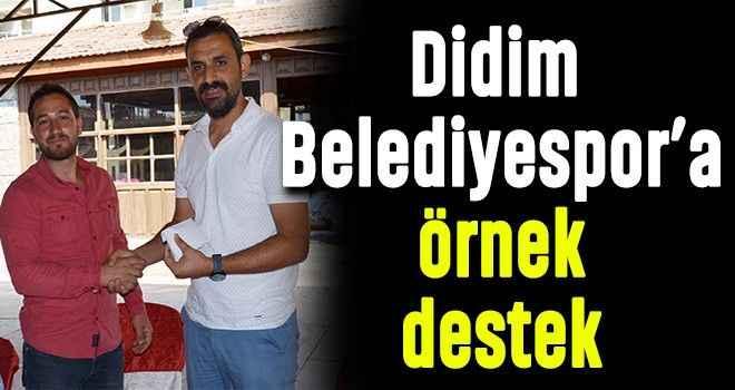 Didim Belediyespor'a örnek destek