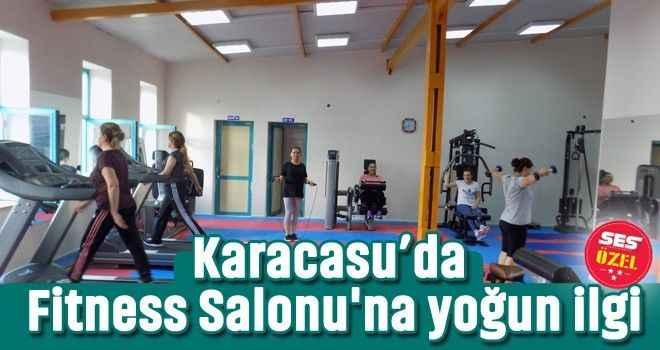 Karacasu'da Fitness Salonu'na yoğun ilgi