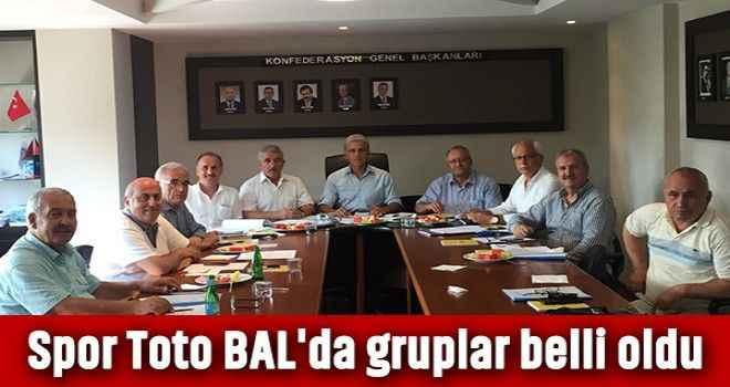 Spor Toto BAL'da gruplar belli oldu