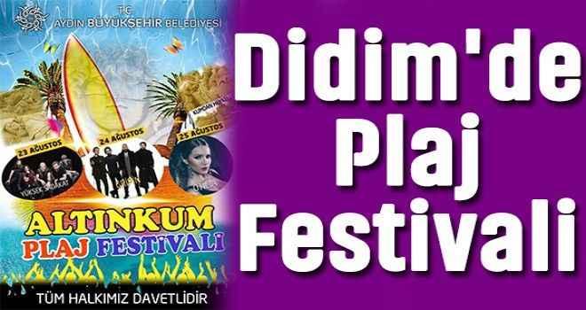 Didim'de Plaj Festivali