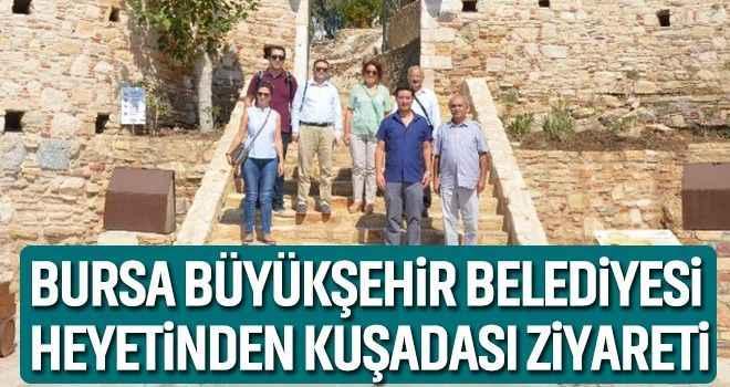 Bursa Büyükşehir Belediyesi heyetinden Kuşadası ziyareti