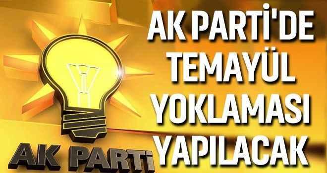 AK Parti'de temayül yoklaması yapılacak
