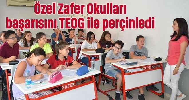 Özel Zafer Okulları başarısını TEOG ile perçinledi