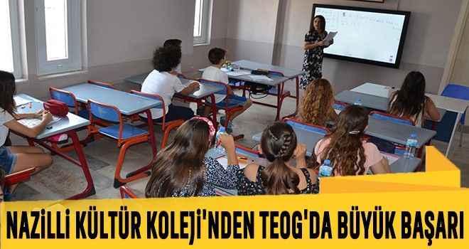 Nazilli Kültür Koleji'nden TEOG'da büyük başarı
