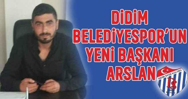 Didim Belediyespor'un yeni başkanı Arslan