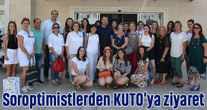 Soroptimistlerden KUTO'ya ziyaret