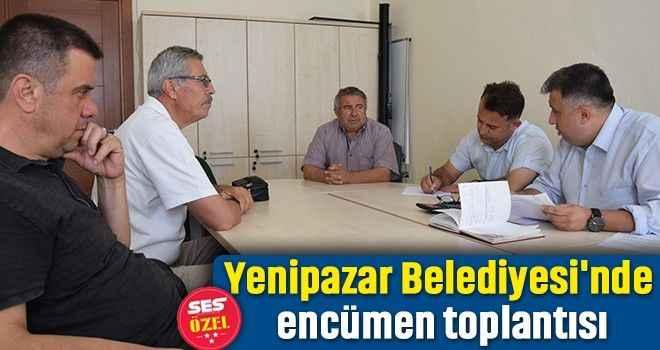 Yenipazar Belediyesi'nde encümen toplantısı