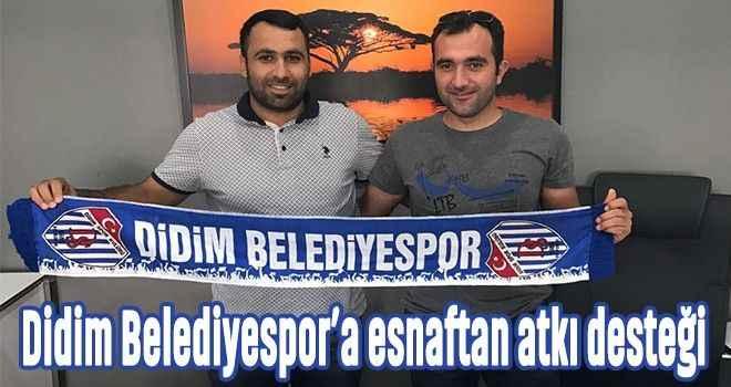 Didim Belediyespor'a esnaftan atkı desteği