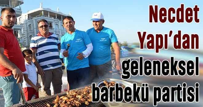 Necdet Yapı'dan geleneksel barbekü partisi