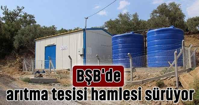 BŞB'de arıtma tesisi hamlesi sürüyor