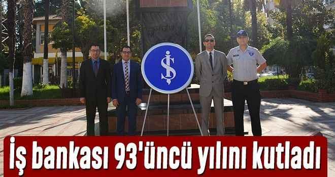 İş bankası 93'üncü yılını kutladı