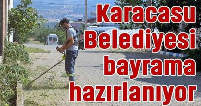 Karacasu Belediyesi bayrama hazırlanıyor