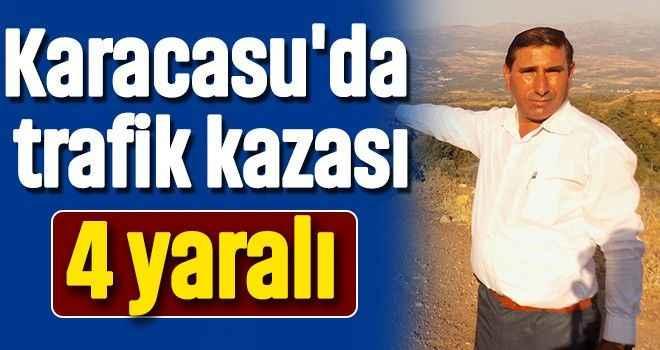 Karacasu'da trafik kazası: 4 yaralı