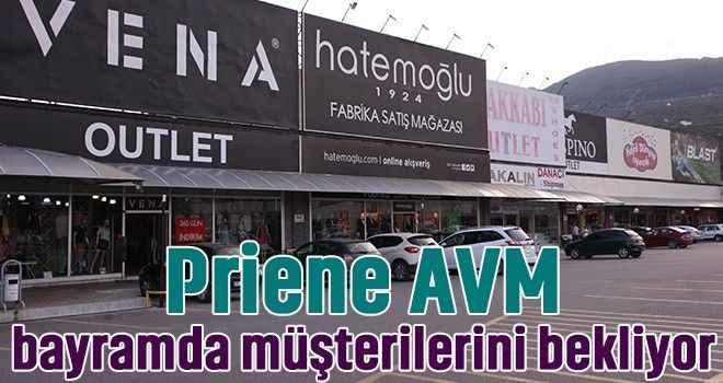 Priene AVM, bayramda müşterilerini bekliyor