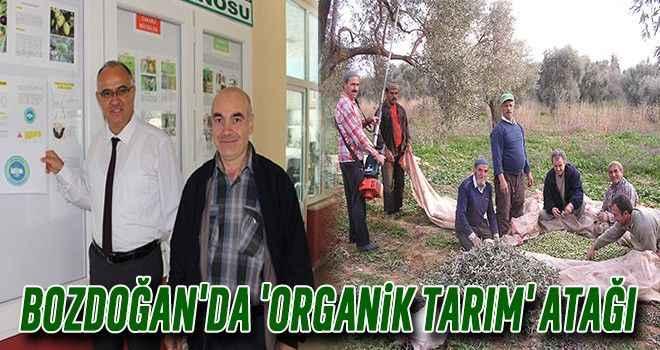 Bozdoğan'da 'organik tarım' atağı