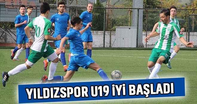 Yıldızspor U19 iyi başladı