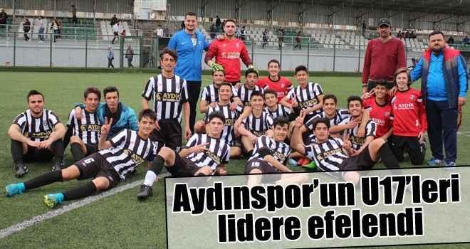 Aydınspor'un U17'leri lidere efelendi