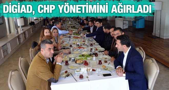 DİGİAD, CHP yönetimini ağırladı