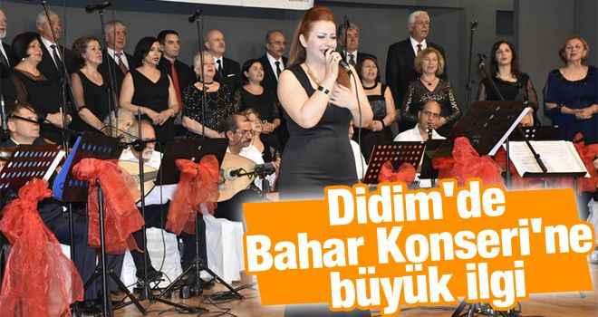 Didim'de Bahar Konseri'ne büyük ilgi