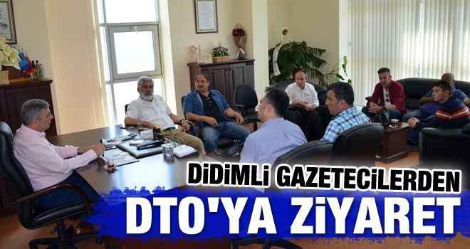 Didimli gazetecilerden DTO'ya ziyaret