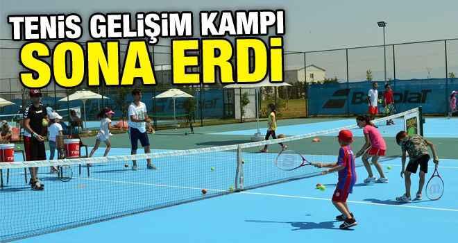 Tenis Gelişim Kampı sona erdi