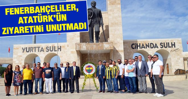 Fenerbahçeliler, Atatürk'ün ziyaretini unutmadı