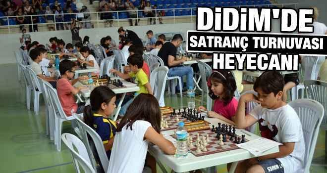 Didim'de satranç turnuvası heyecanı