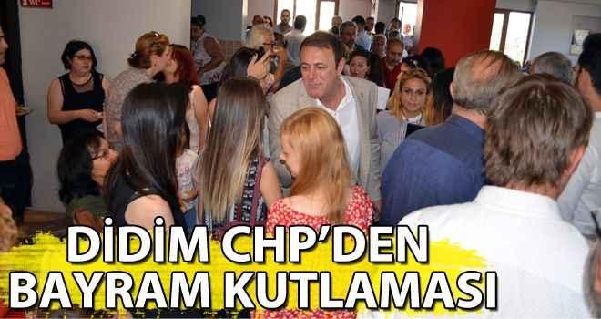 Didim CHP'den bayram kutlaması