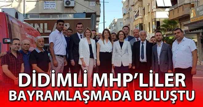 Didimli MHP'liler bayramlaşmada buluştu