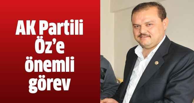 AK Partili Öz'e önemli görev