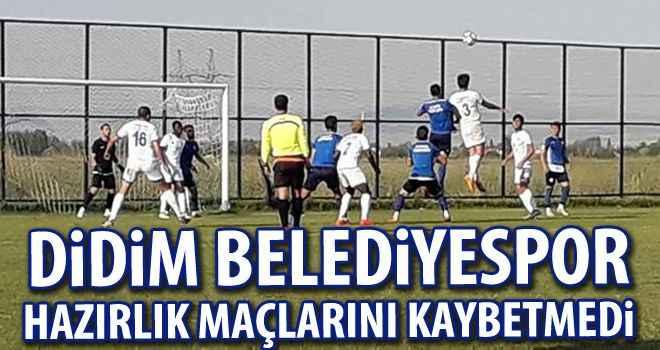 Didim Belediyespor hazırlık maçlarını kaybetmedi