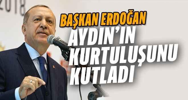 Başkan Erdoğan kurtuluşu kutladı