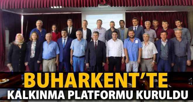 Buharkent'te Kalkınma Platformu kuruldu