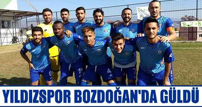 Yıldızspor Bozdoğan'da güldü