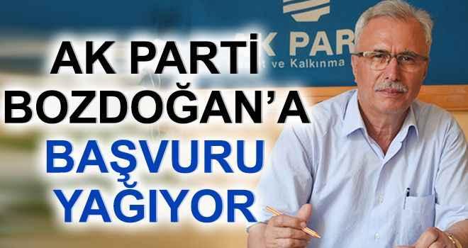 AK Parti Bozdoğan'a başvuru yağıyor