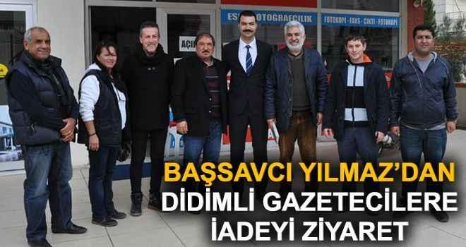Başsavcı Yılmaz'dan Didimli gazetecilere iadeyi ziyaret
