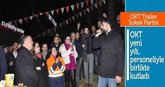 OKT yeni yılı, personeliyle kutladı