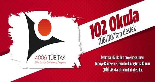 Aydın'daki 102 okula TÜBİTAK'tan destek