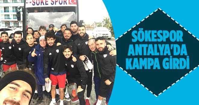 Sökespor Antalya'da kampa girdi