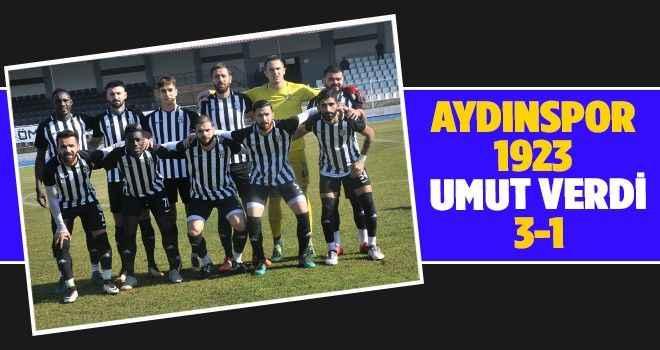 Aydınspor 1923 umut verdi 3-1