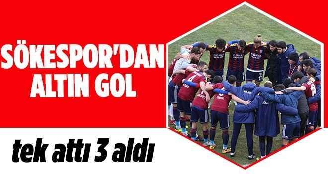 Sökespor'dan altın gol