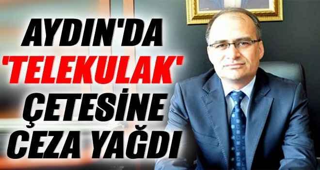 Aydın'da 'telekulak' çetesine ceza yağdı