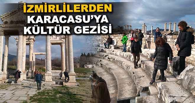 İzmirlilerden Karacasu'ya kültür gezisi