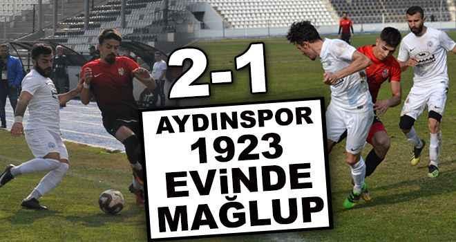 Aydınspor 1923 evinde mağlup