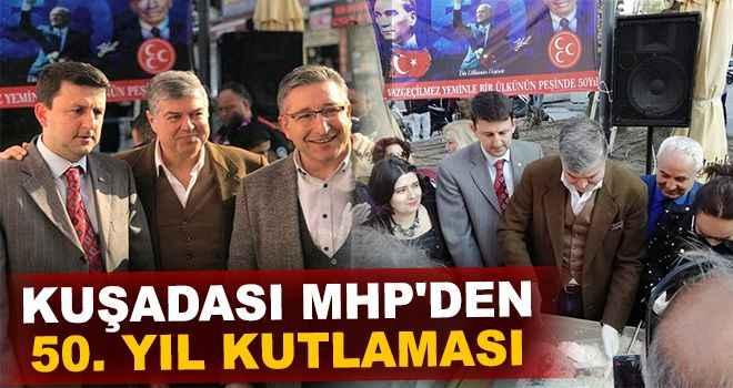 Kuşadası MHP'den 50. yıl kutlaması