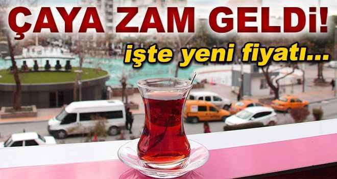 Aydın'da çaya ve kahveye zam!