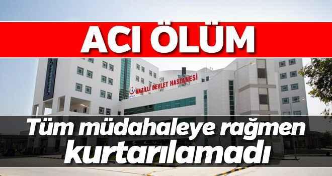 Aydın'da iş kazası: 1 ölü