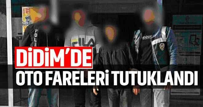 Didim'de oto fareleri tutuklandı